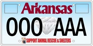 Animal Shelter License Plate