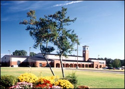Front of the Jacksonville Community Center