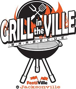 Grill in the Ville logo - small