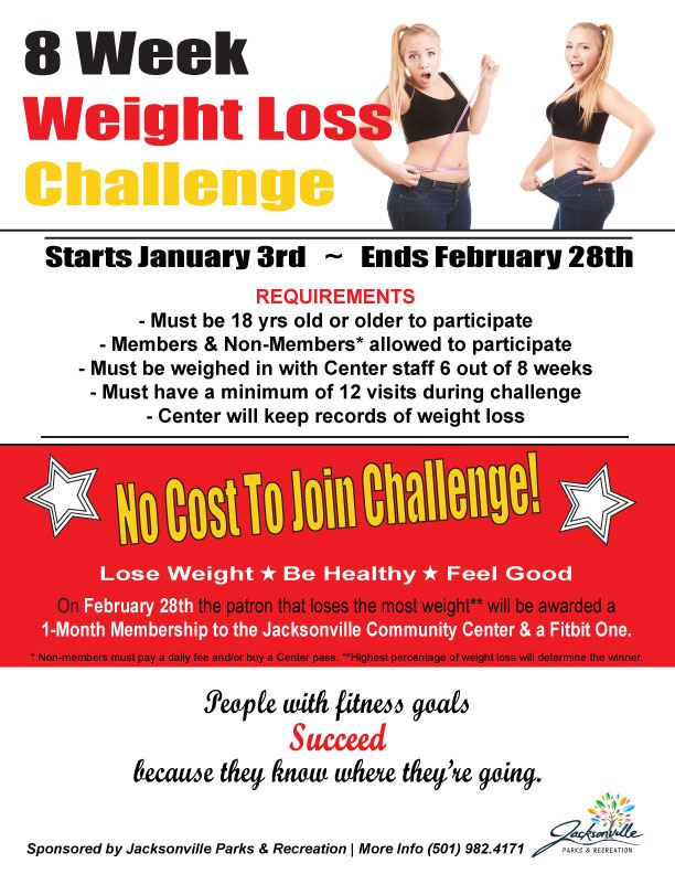 Weight Loss Challenge 2018