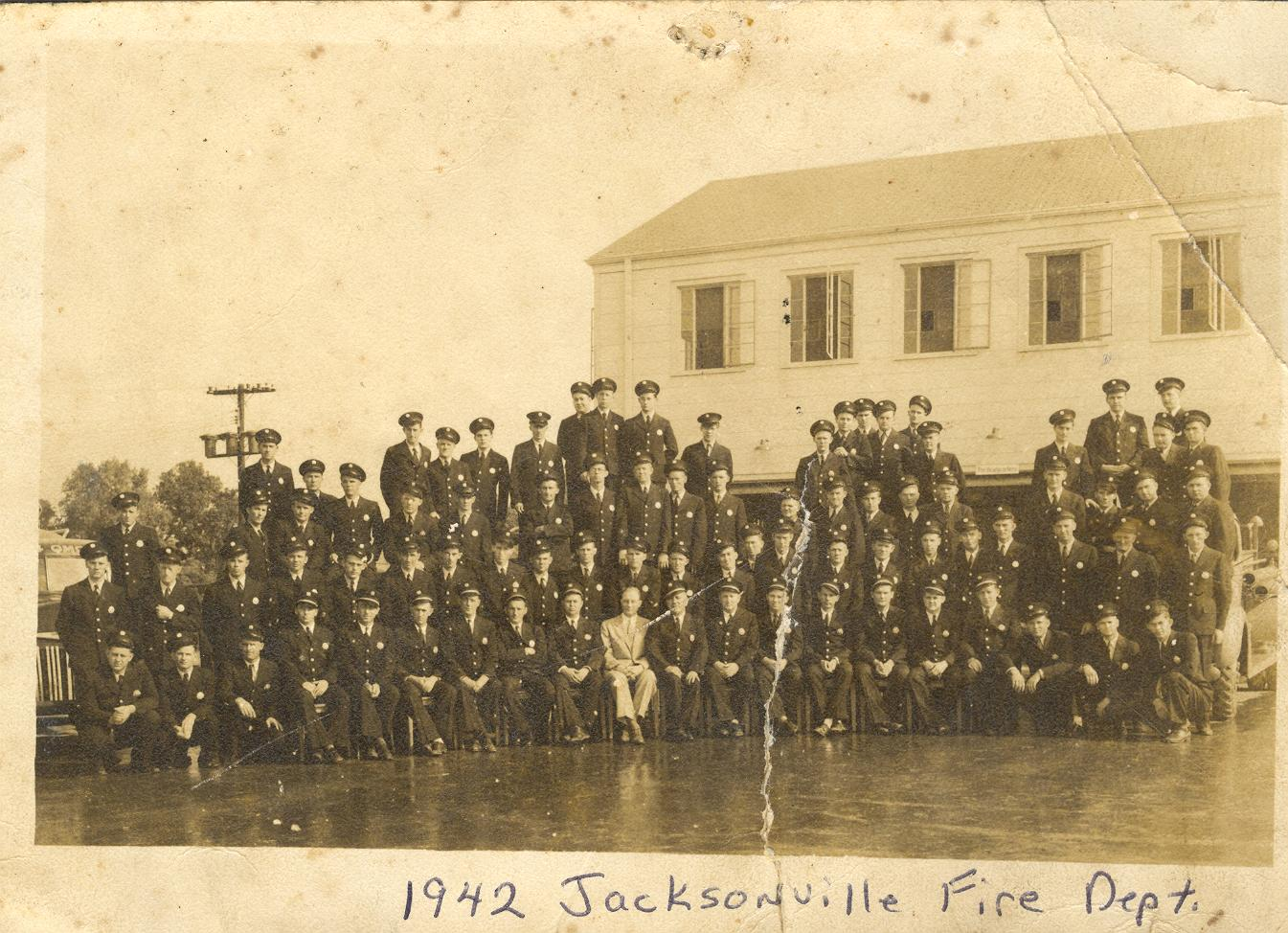 1942 Jacksonville Fire Department Group